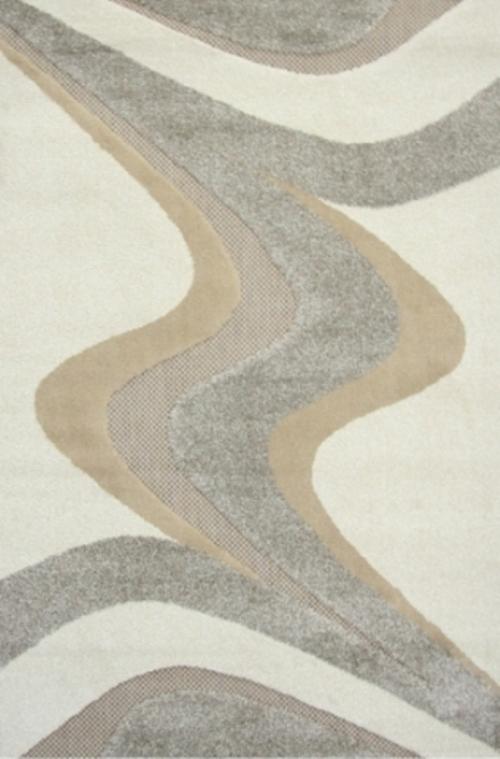Ковер Oriental Weavers Леа, цвет: коричневый, 120 х 180 см. 1492314923Двухуровневая современная технология cut&loop делает объемными дизайны ковров этой коллекции, что позволяет использовать их в самых современных интерьерах.