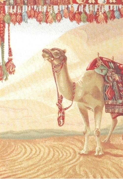 Ковер Oriental Weavers Виктория, цвет: коричневый, красный, 100 х 140 см. 1502215022Коллекция настенных гобеленов очень высокого качества на хлопковом подкладе со специальным карманом для крепления карниза.
