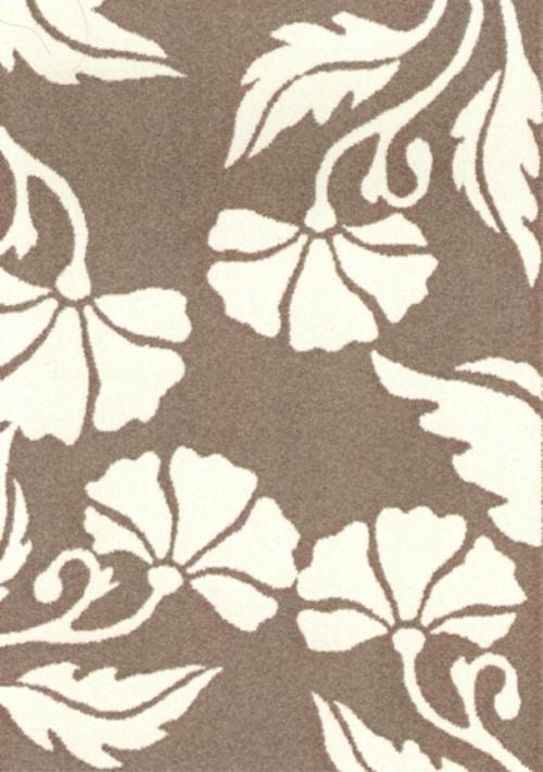 Ковер Oriental Weavers Варшава, цвет: светло-коричневый, 80 х 140 см. 1684316843Ковры из высококачественного полипропилена с технологией ручной рельефной стрижки выдержаны в классических бело-коричневых тонах. Подойдут для спальни, детской и гостиной.