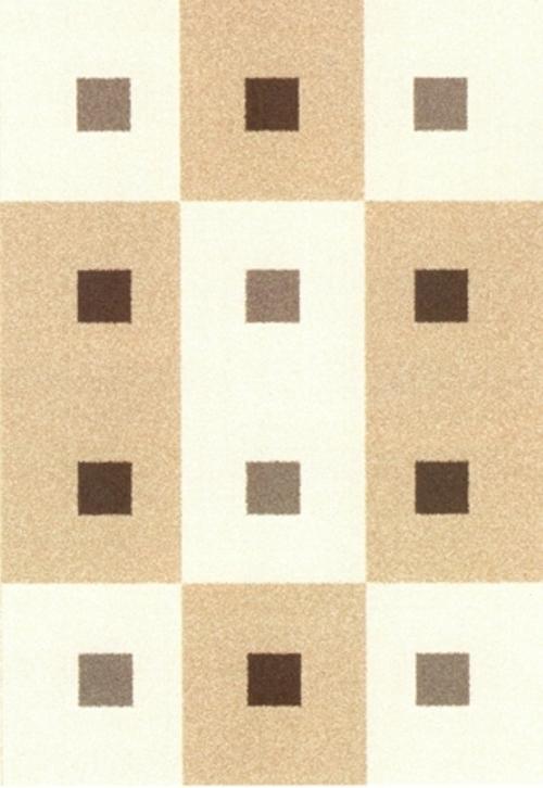 Ковер Oriental Weavers Варшава, цвет: светло-коричневый, 80 х 140 см. 1723017230Ковры из высококачественного полипропилена с технологией ручной рельефной стрижки выдержаны в классических бело-коричневых тонах. Подойдут для спальни, детской и гостиной.