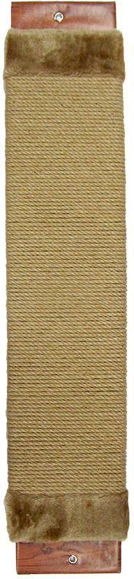 Когтеточка Неженка джутовая, с кошачьей мятой, 61х12 см7140Когтеточка Неженка поможет сохранить мебель и ковры в доме от когтей вашего любимца, стремящегося удовлетворить свою естественную потребность точить когти. Основание изделия изготовлено из ДСП и обтянуто прочной тканью, а столб для точения когтей обтянут джутом. Товар продуман в мельчайших деталях и, несомненно, понравится вашей кошке. Всем кошкам необходимо стачивать когти. Когтеточка - один из самых необходимых аксессуаров для кошки. Для приучения к когтеточке можно натереть ее сухой валерьянкой или кошачьей мятой. Когтеточка поможет вашему любимцу стачивать когти и при этом не портить вашу мебель.