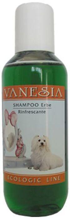 Шампунь для кошек и собак Iv San Bernard Травяной тонизирующий, для всех типов шерсти 0,2 лВ0088Этот шампунь идеально подходит для всех типов шерсти. Шампунь имеет прекрасный свежий аромат травяной эссенции, освежает и тонизирует кожу. Инструкции по использованию: Хорошо намочите шерсть тёплой водой. Нанесите необходимое количество шампуня на шерсть и плавными круговыми движениями втирайте его. Оставьте на некоторое время и, затем, тщательно промойте.
