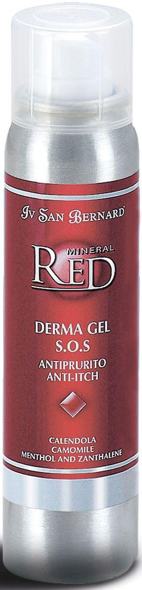 Гель для кожи Iv San Bernard S.O.S., 100 млКР676ель для кожи DERMA GEL S.O.S. – это гель, в состав котороговходят активные натуральные экстракты календулы, ромашки,ментола и занталена. Это лекарственные растения, придющиездоровье и облегчающие зуд. Инструкция по применению: Нанести гель Derma Gel S.O.S припомощи специальной трубочки-аппликатора на корочку, рану илизудящую область и аккуратно промокнуть. В первый день такуюпроцедуру можно повторять через каждые 3 часа. Не смывать.