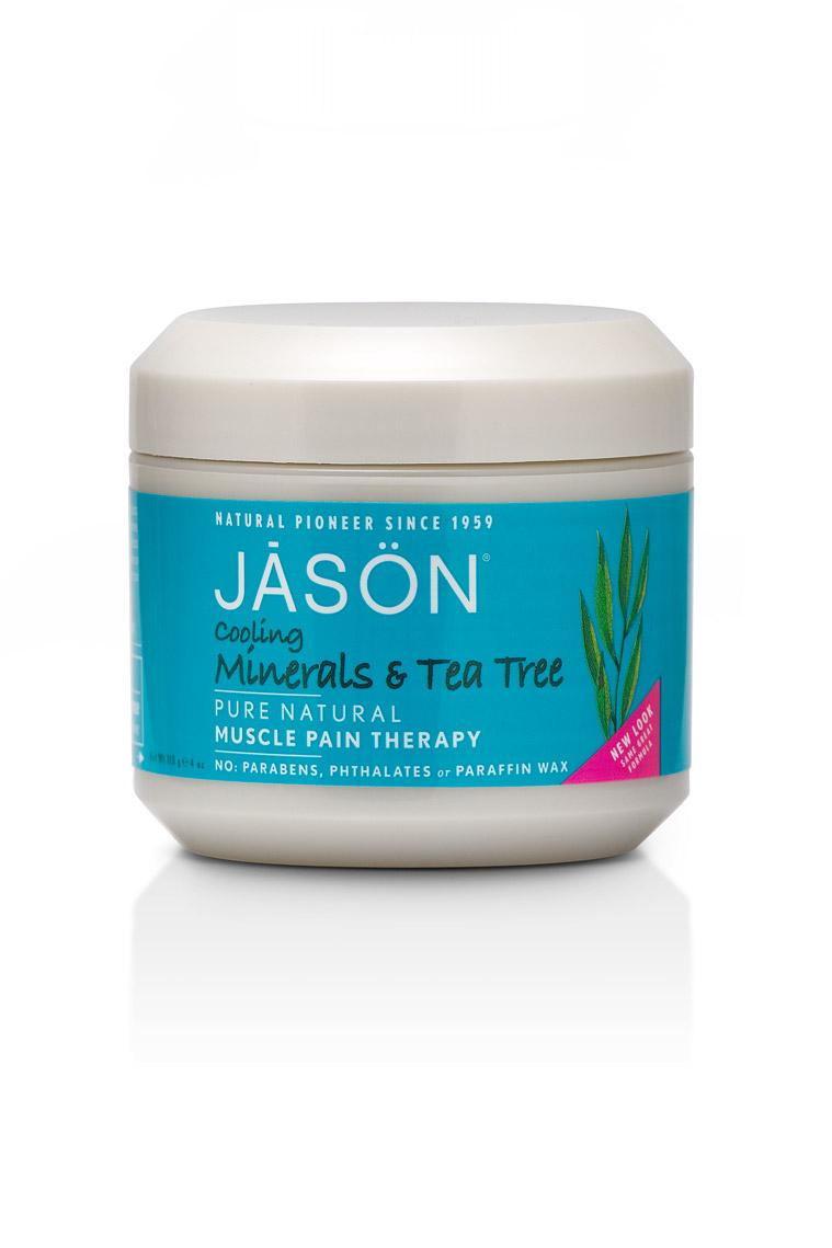Jason Минеральный гель для тела с маслом чайного дерева Tea Tree Pain Therapy, 113 грJ03002Главное достоинство геля – быстрое местное болеутоляющее и противовоспалительное действие. Обладает антисептическим, антибактериальным и противоотечным действием. Легкий охлаждающий эффект при нанесении помогает при ушибах, мышечном напряжении, болях в мышцах и суставах. Масла авокадо, примулы вечерней и лесного ореха смягчают и питают кожу.