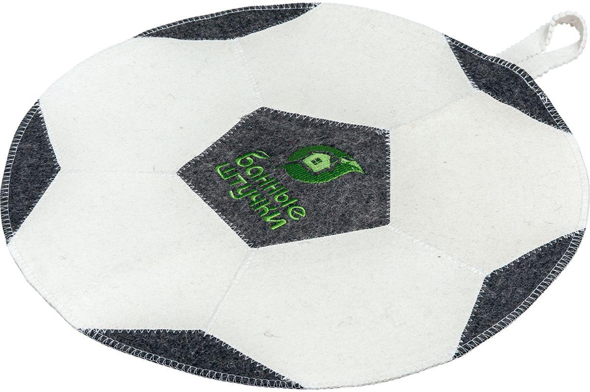 Коврик для бани и сауны Банные штучки Футбольный мяч40140войлок 100%