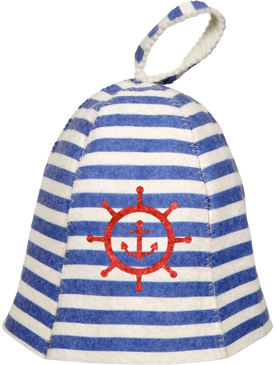Шапка для бани и сауны Банные штучки Морская41219войлок 100%