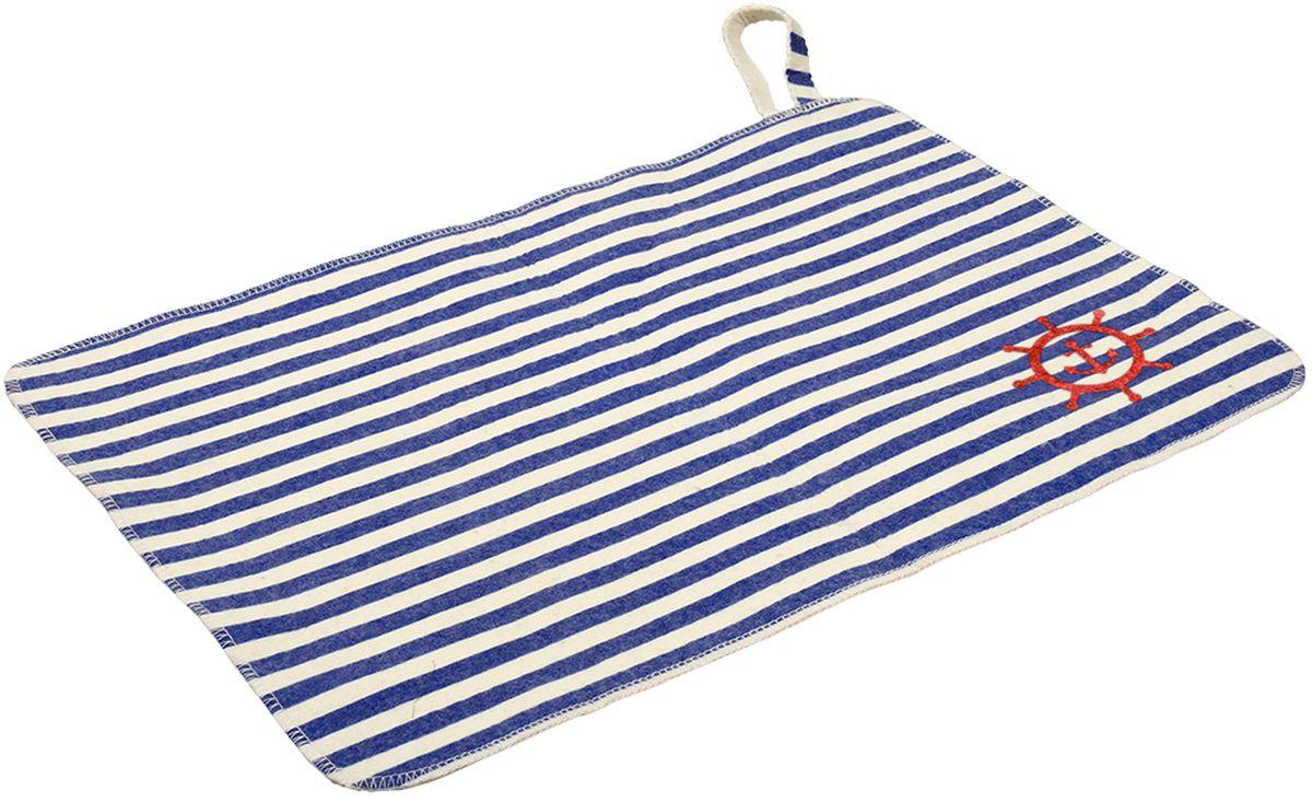 Коврик для бани и сауны Банные штучки Морской41221войлок 100%