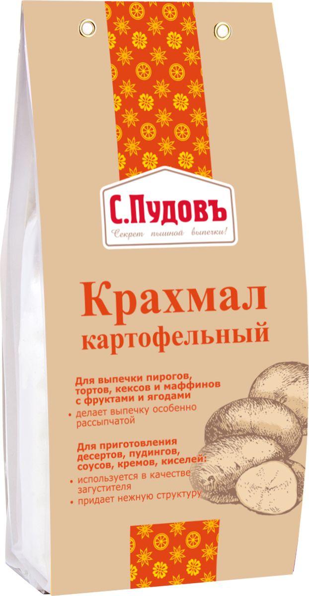 Пудовъ крахмал картофельный, 200 г