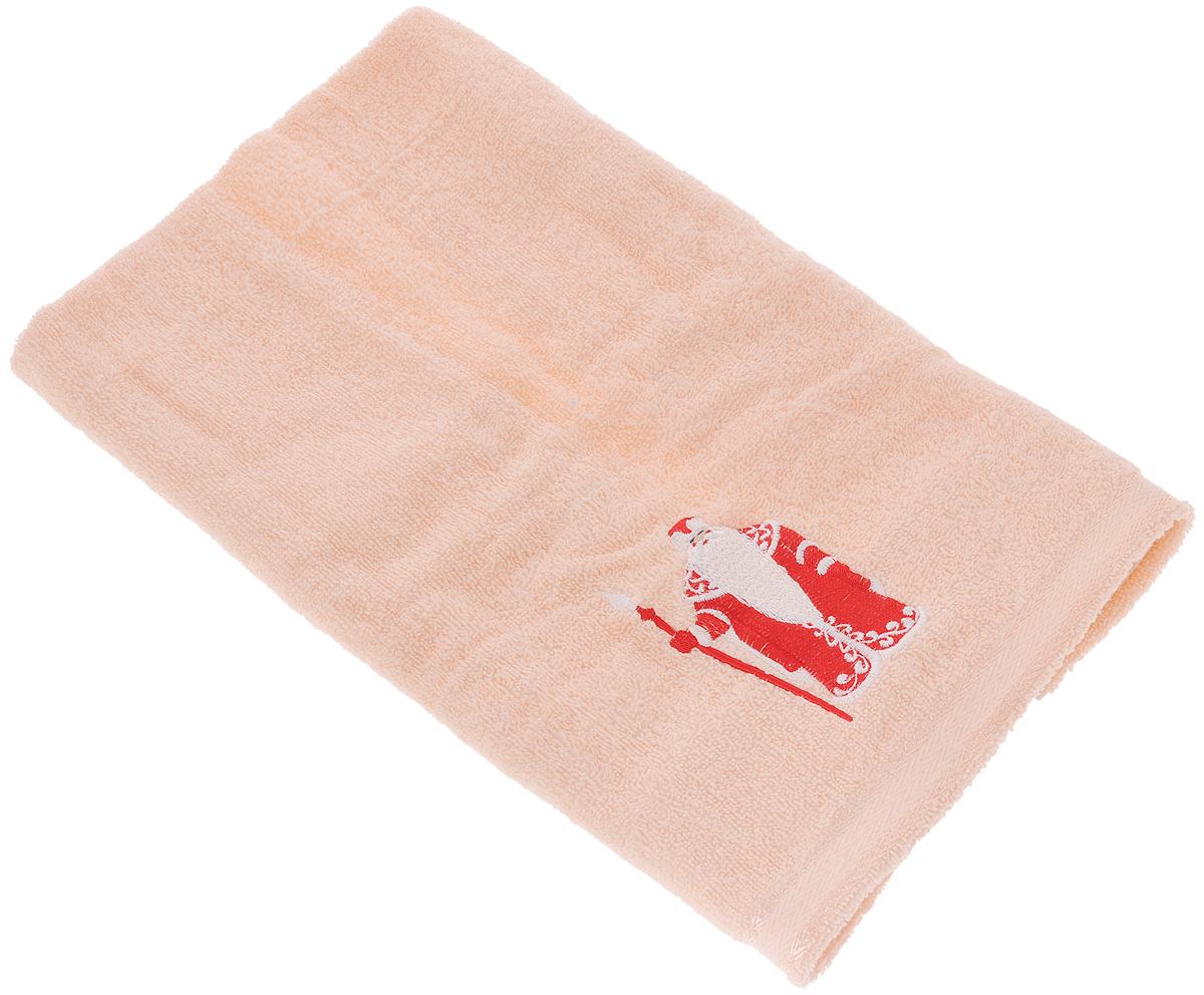 Полотенце Primavelle Орион. Дед Мороз, 50 х 90 смCt4405090-МЗМахровое полотенце Primavelle Орион. Дед Мороз изготовлено из натурального хлопка и украшено тематической вышивкой. Изделие необычайно мягкое и воздушное, оно прекрасно впитывает влагу, быстро сохнет и не теряет своих свойств после многократных стирок. Такое полотенце подарит массу положительных эмоций и приятных ощущений, а также станет недорогим и оригинальным подарком.