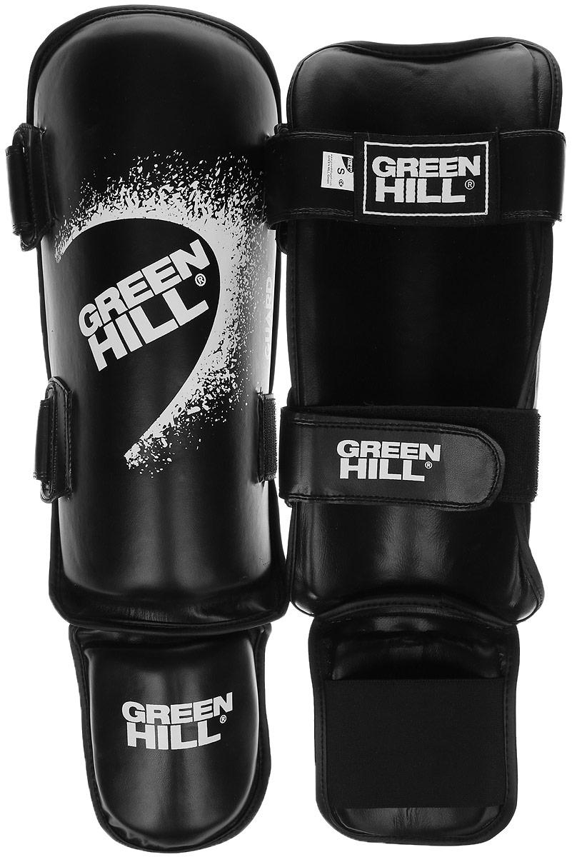 Защита голени и стопы Green Hill Guard, цвет: черный, белый. Размер S. SIG-0012SIG-0012Защита голени и стопы Green Hill Guard с наполнителем, выполненным из вспененного полимера, необходима при занятиях спортом для защиты пальцев и суставов от вывихов, ушибов и прочих повреждений. Накладки выполнены из высококачественной искусственной кожи. Они прочно фиксируются за счет эластичной ленты и липучек. Удобные и эргономичные накладки Green Hill Guard идеально подойдут для занятий тхэквондо и другими видами единоборств. Длина голени: 33 см. Ширина голени: 14,5 см. Длина стопы: 13 см. Ширина стопы: 11,5 см.