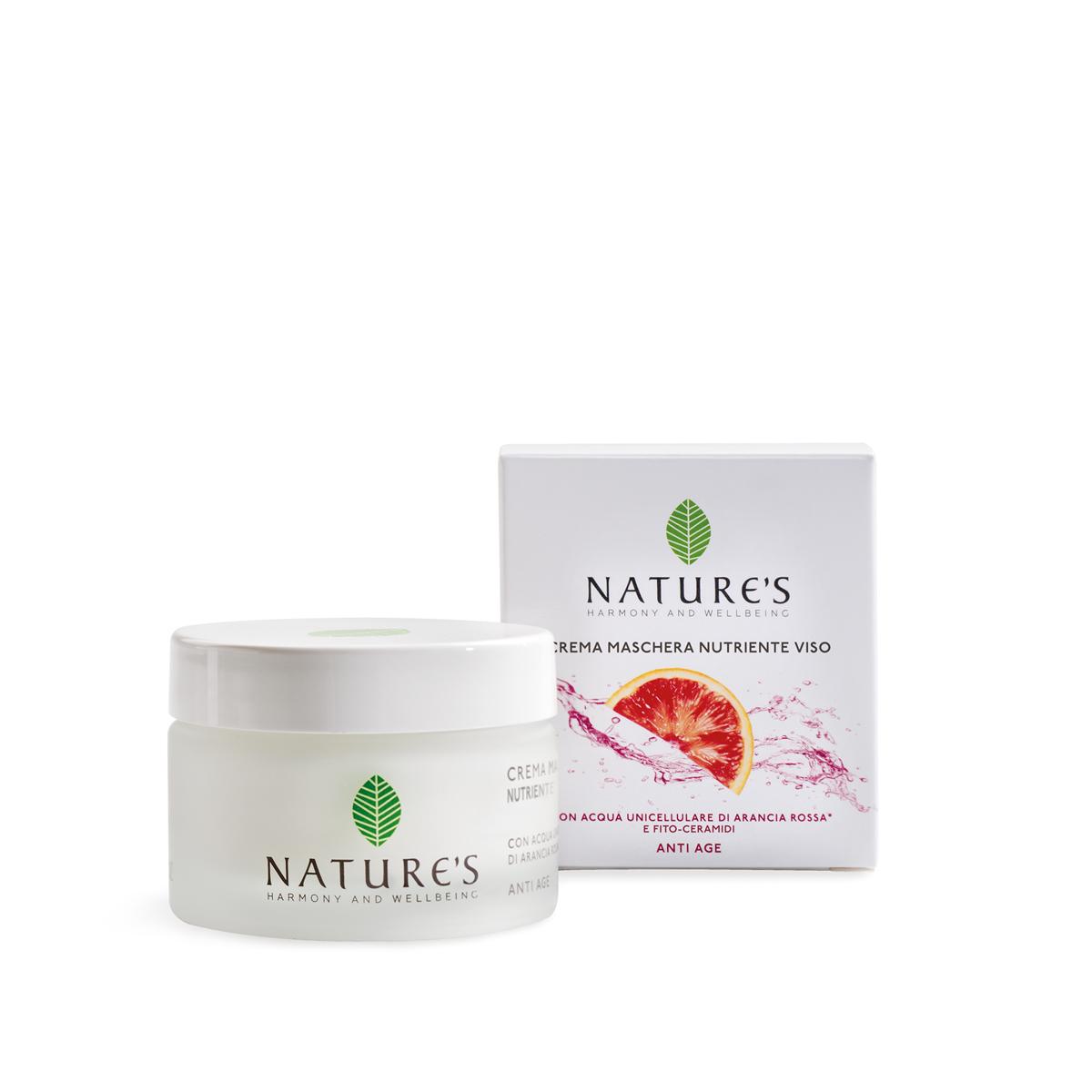 Natures Маска-крем питательная для лица, 50 мл (Bios Line S.p.A)
