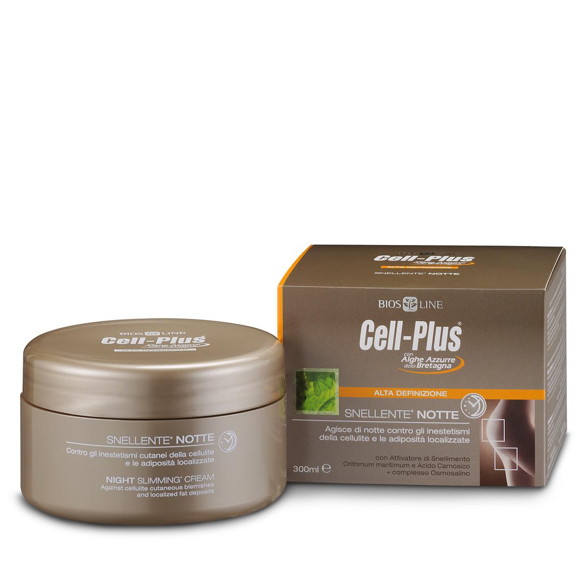 Крем Cell-Plus для похудания, ночной уход, 300 мл (Bios Line S.p.A)