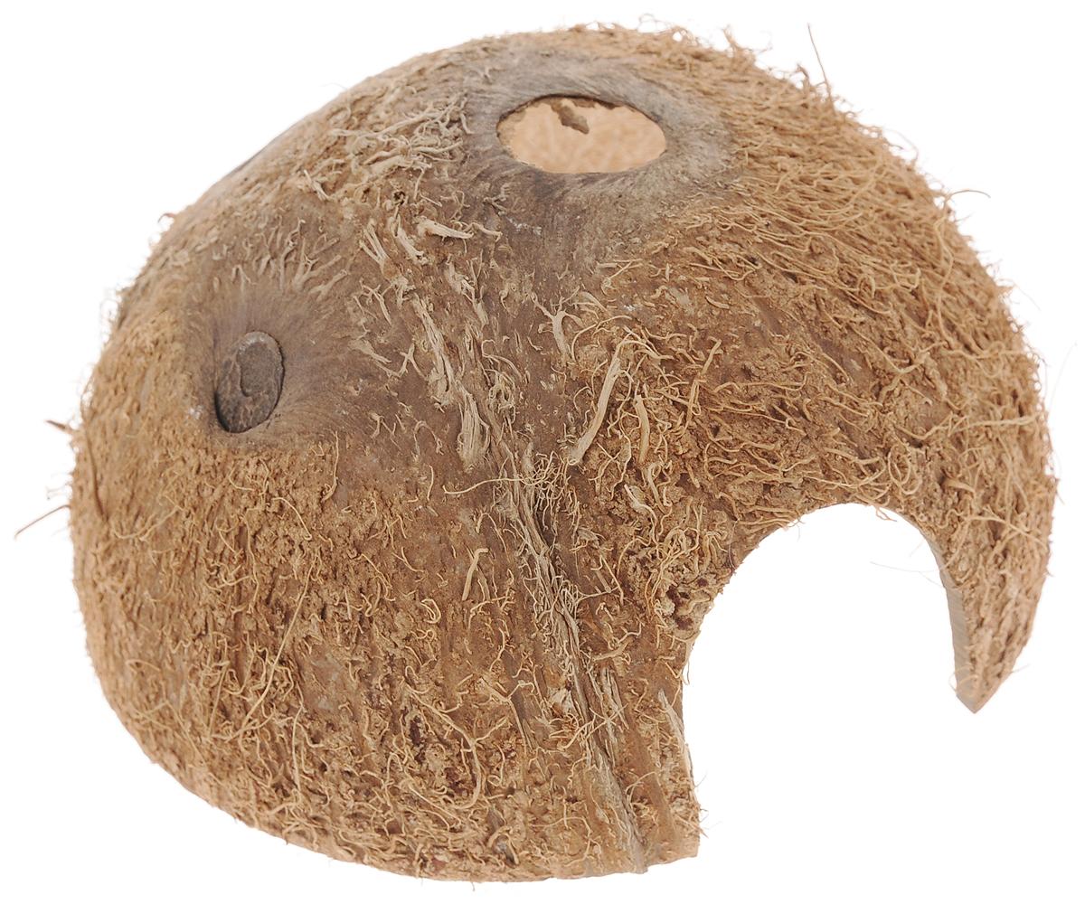 Пещера декоративная для аквариума JBL Cocos Cava, из кожуры кокоса, 11,5 х 11,5 х 6 смJBL6151000Декоративная пещера JBL Cocos Cava - это идеальное место для нереста и укрытия рыб. Пещера станет оригинальным украшением для вашего аквариума. Обитатели террариума охотно используют эту натуральную пещеру в качестве места для сна и укрытия. Изделие изготовлено из натурального материала без ядовитых веществ. Размер пещеры: 11,5 х 11,5 х 6 см. Размер отверстия: 3,7 х 3,5 см.