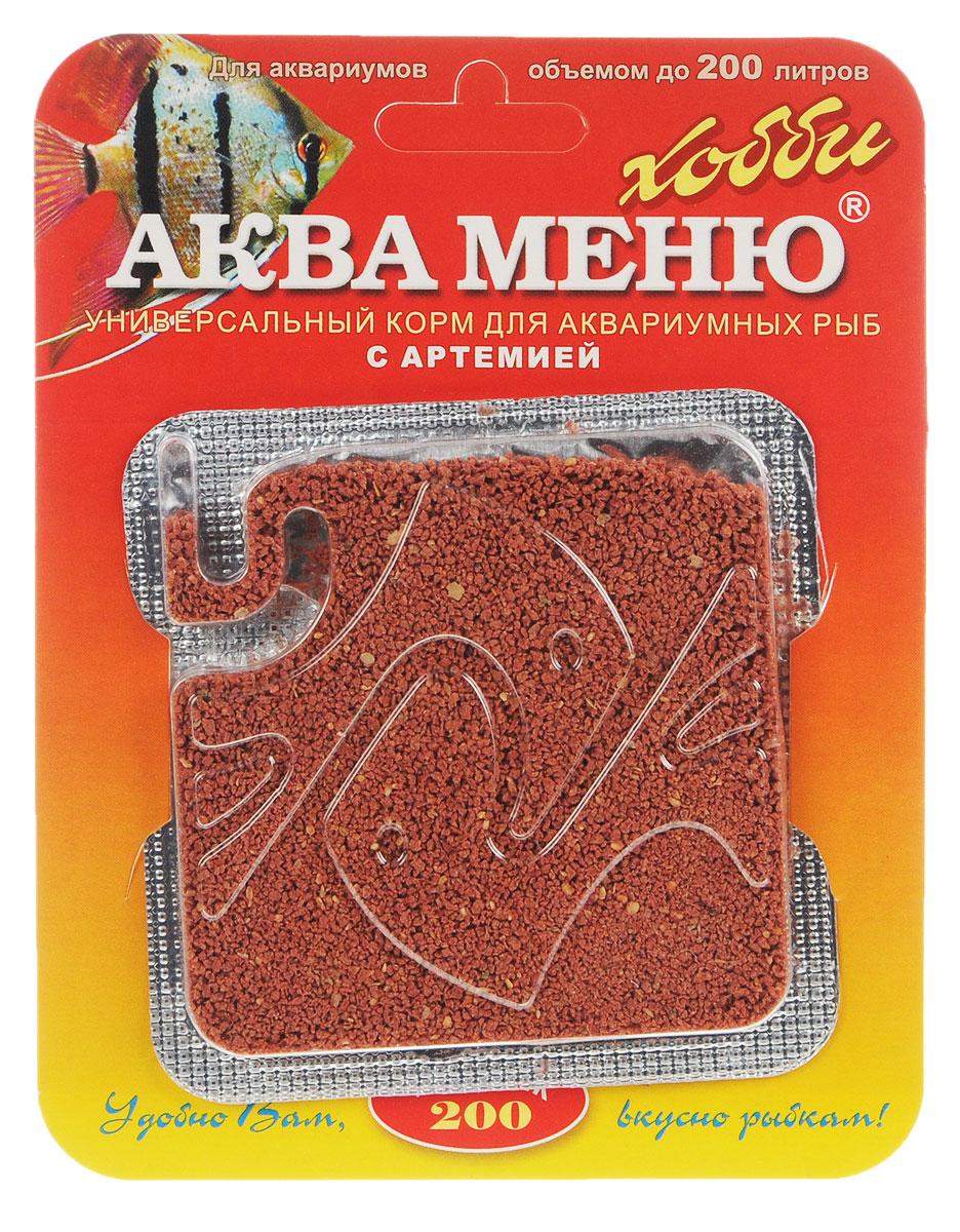 Корм Аква Меню Униклик-200 для рыб, с артемией, 6,5 г00000000926Универсальный ежедневный корм Аква Меню Униклик- 200 с артемией подходит для большинства видов аквариумных рыб: живородящих, цихлид, харациновых, лабиринтовых, карповых, различных сомов и других рыб длиной 3-10 см. Корм полезно 1-2 раза в неделю чередовать с кормом Аква Меню Фитоклик со спирулиной. Рекомендуется для аквариумов объемом до 200 л. Одна порция 50 мг корма - дневной рацион для взрослых рыб, общей массой 10 г. Химический состав на 1 кг: белки - 43,7%, жиры - 7%, клетчатка - 2,5%, влажность - 10%, Витамин А - 20000 МЕ, Витамин D3 - 2000 МЕ, Витамин Е - 100 мг. Товар сертифицирован.