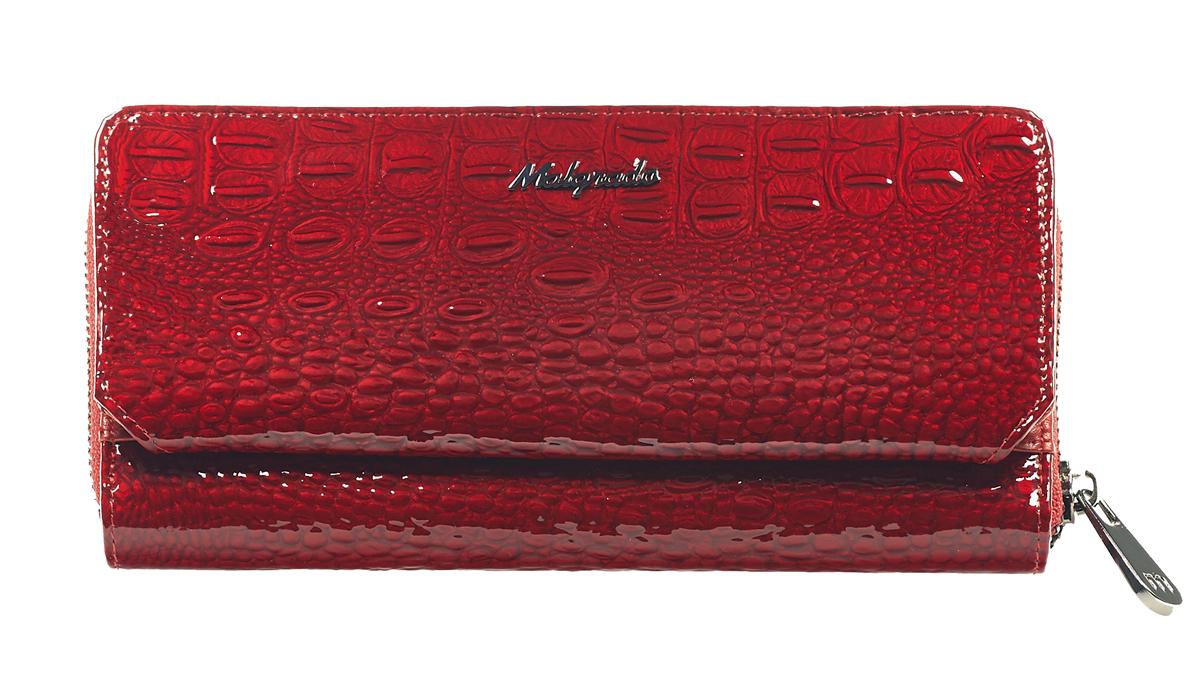 Клатч женский Malgrado, цвет: красный. 73001-0170173001-01701
