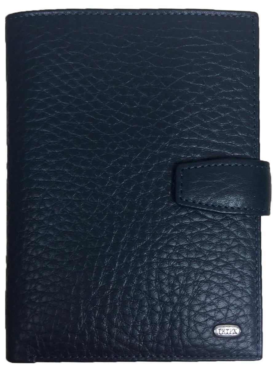 Обложка для автодокументов мужская Petek 1855, цвет: синий. 596.46D.88596.46D.88 NavyОбложка для паспорта и автодокументов из натуральной кожи великолепной выделки. Практичная и удобная модель для тех, кто предпочитает все необходимое хранить в одном месте. Внутри обложка имеет специальное отделение для паспорта, вынимающийся блок из прозрачного пластика для автодокументов. Обложка застегивается на кнопку.