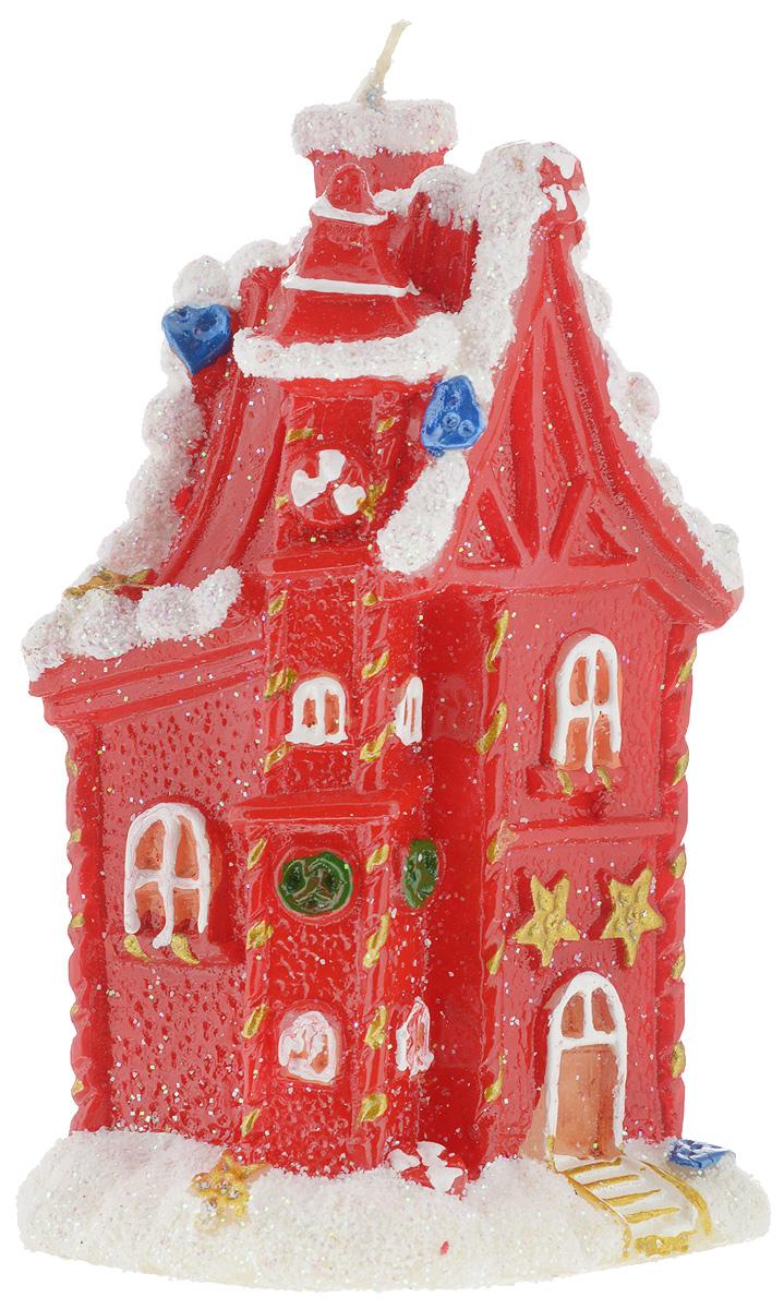 Свеча новогодняя House & Holder Домик, высота 14,5 смWF064742Новогодняя свеча House & Holder Домик выполнена из парафина с добавлением красителей и снабжена х/б фитилем. Изделие изготовлено в виде домика, припорошенного снегом. Такая свеча красиво дополнит интерьер вашего дома в преддверии Нового года. Создайте для себя и своих близких незабываемую атмосферу праздника и уюта в доме.