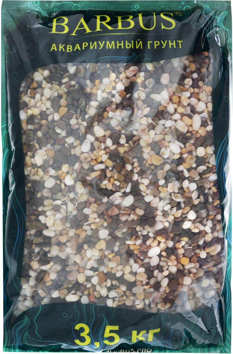 Грунт для аквариума Barbus Феодосия №1, натуральный, галька, 2-5 мм, 3,5 кгGRAVEL 015/3,5Натуральный природный грунт в виде гальки Barbus Феодосия №1 прекрасно подходит для применения в пресноводных аквариумах, а также в палюдариумах и террариумах. Грунт является субстратом для укоренения водных растений и служит неотъемлемой частью естественной среды обитания рыб. Безопасен для всех видов рыб и живых растений. Рекомендуется перед использованием грунт промыть. Средняя норма засыпки пакета грунта рассчитана на 20 литров воды стандартных размеров аквариума. Фракция: 2-5 мм.