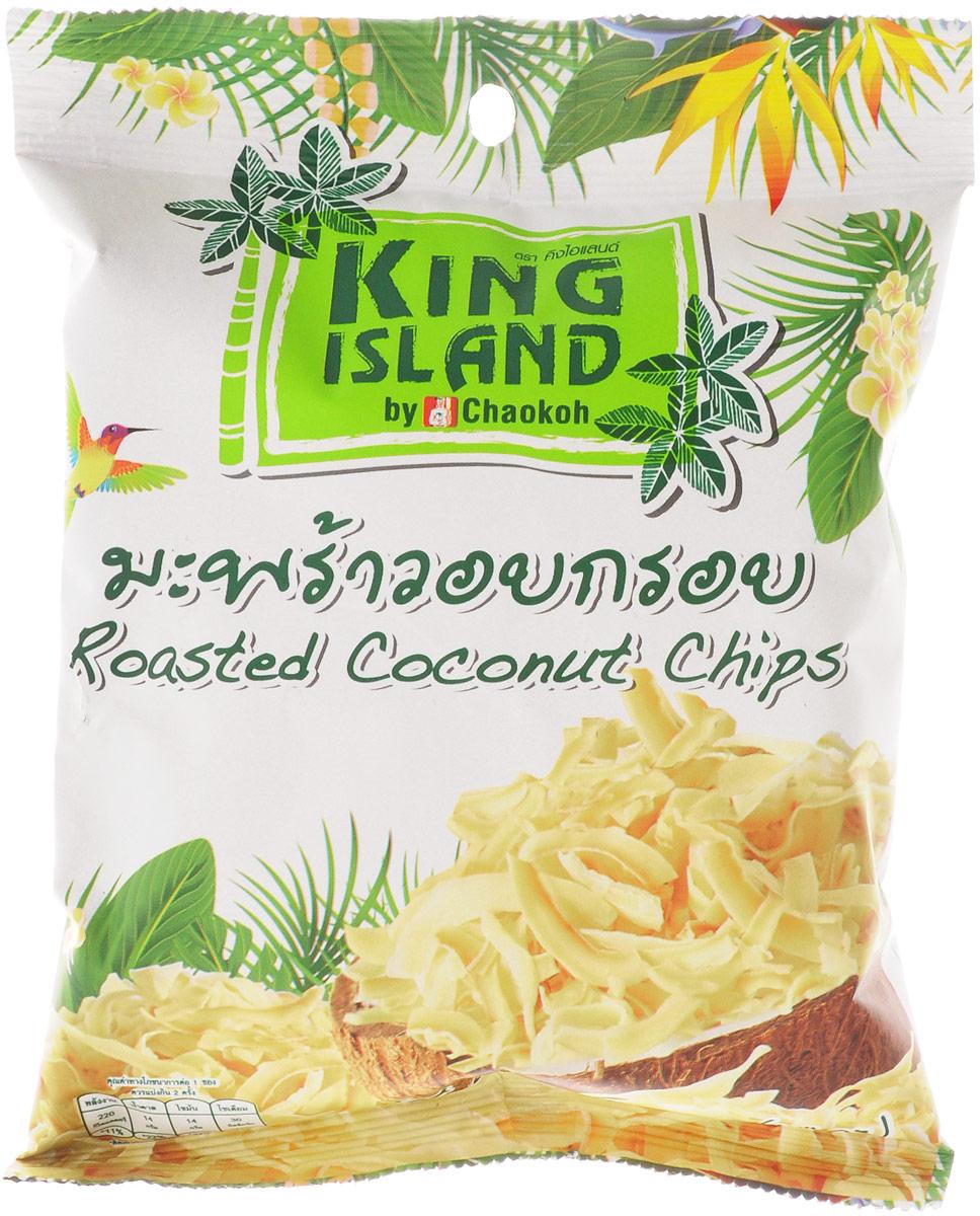 King Island кокосовые чипсы, 40 г