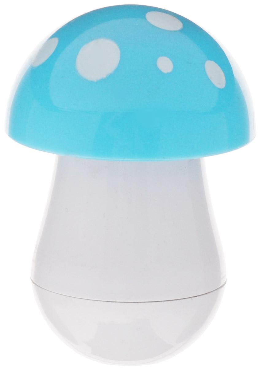 Эврика Ручка шариковая Гриб цвет шляпки голубой