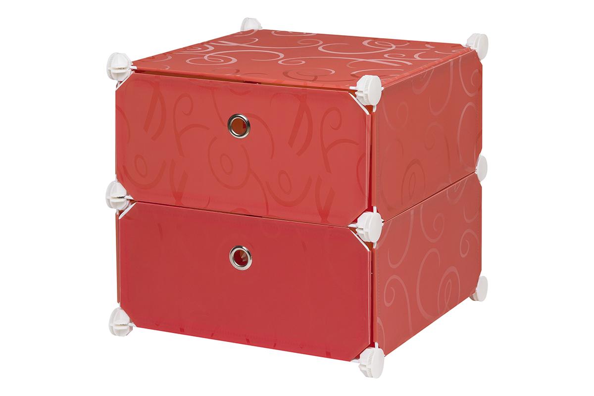 Полка складная EL Casa, для модульной системы хранения, цвет: красный, 37 х 39 х 39 см. 370644370644Полка складная EL Casa представляет собой сборный металлический каркас, на который натянуты панели из полипропилена. Дверцы снабжены магнитом, а ручка выполнена в виде кольца. Изделие имеет 2 отделения. Модульная полка предназначена для хранения одежды, игрушек и мелочей. Она легкая, вместительная, быстро собирается, не занимает много места, комбинируется с другими полками модульных систем El Casa. Компактная полка станет незаменимой дома или на даче, однотонная расцветка позволит ей вписаться в любой интерьер.