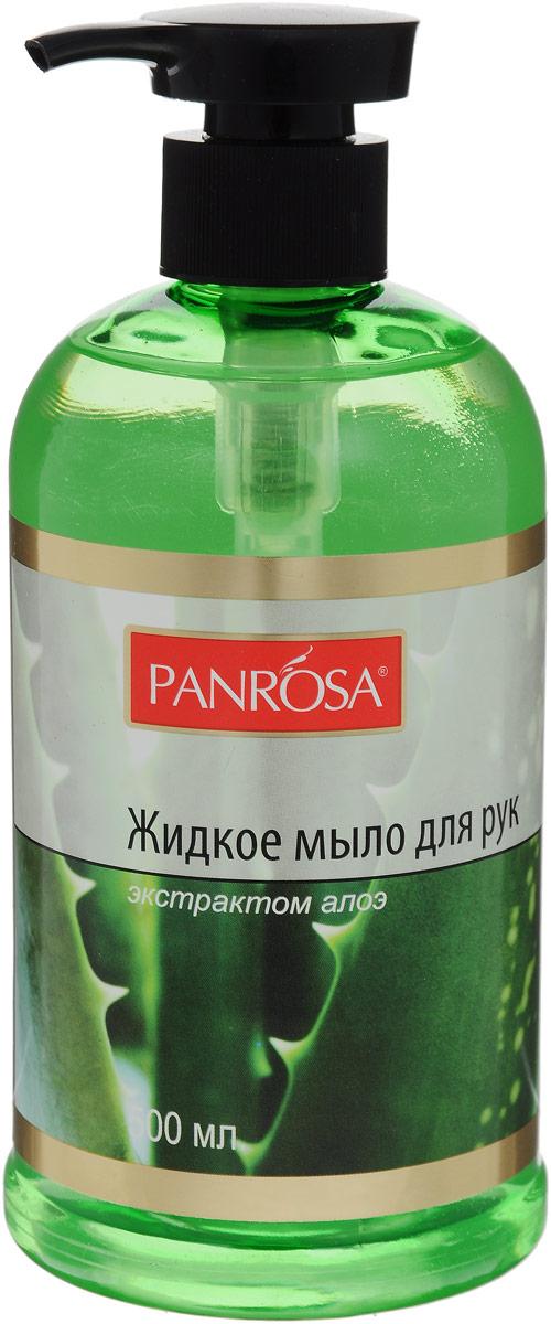 Жидкое мыло Panrosa Цветочный сад Алоэ 500мл146228Жидкое мыло для рук Panrosa, благодаря цветочным экстрактам, увлажняет кожу, оставляет на ваших руках ощущение чисты. Мыло смягчает кожу, снимает раздражение, способствует заживлению, оказывает противовоспалительное действие. Способствует быстрой регенерации клеток, устраняет шелушение, повышает эластичность кожи.