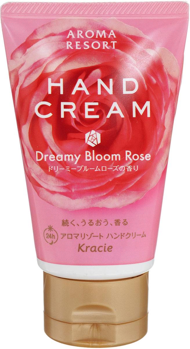 Kracie 64233 Aroma Resort Крем для рук Aroma Resort - аромат розы 70 г