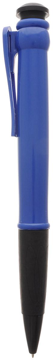 Эврика Ручка шариковая цвет корпуса синий 28,5 см96081Огромная шариковая ручка Эврика поразит воображение любого, кто увидит ее впервые. Ручка автоматическая, имеет сменный стержень с чернилами и клип, все как у ее настоящих младших собратьев. Оригинальную ручку можно использовать для подписания шуточных документов, участия в конкурсах и просто в качестве удивительного сувенира. Несмотря на ее большие размеры, писать такой ручкой довольно удобно.