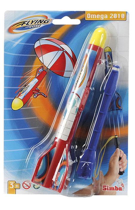 Simba Ракета7207709Летающая ракета-рогатка, при приземлении раскрывающая парашют. Изготовлена игрушка из высококачественной пластмассы, что обеспечивает безопасность вашего ребенка. Развивает логику, реакцию, мелкую моторику рук и поднимает настроение вам и вашему ребенку! Сделайте приятный подарок всей семье!