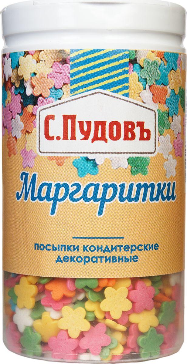 Пудовъ посыпка маргаритки, 40 г