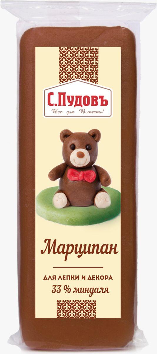 Пудовъ марципан коричневый, 100 г4607012296481Коричневый марципан Пудовъ - это натуральный продукт с высоким содержанием молотого миндаля, доля которого составляет 33%. Благодаря сбалансированному составу и нейтральному цвету, он идеально подходит для украшения тортов любой тематики. Особенно красиво смотрятся изготовленные из него банты, будто шоколадные цветы, бусины и пуговки в сочетании с белым цветом. Содержит красители, которые могут оказывать отрицательное влияние на активность и внимание детей.