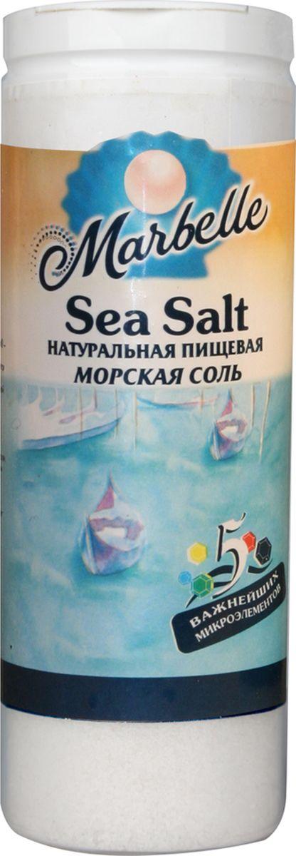 Marbellе морская соль мелкая, 150 г4607012291202Натуральная морская соль мелкого помола – богатый источник минеральных веществ и полезных микроэлементов, которые оказывают общее оздоровительное воздействие на процессы, протекающие в организме, а также насыщает его важными компонентами.