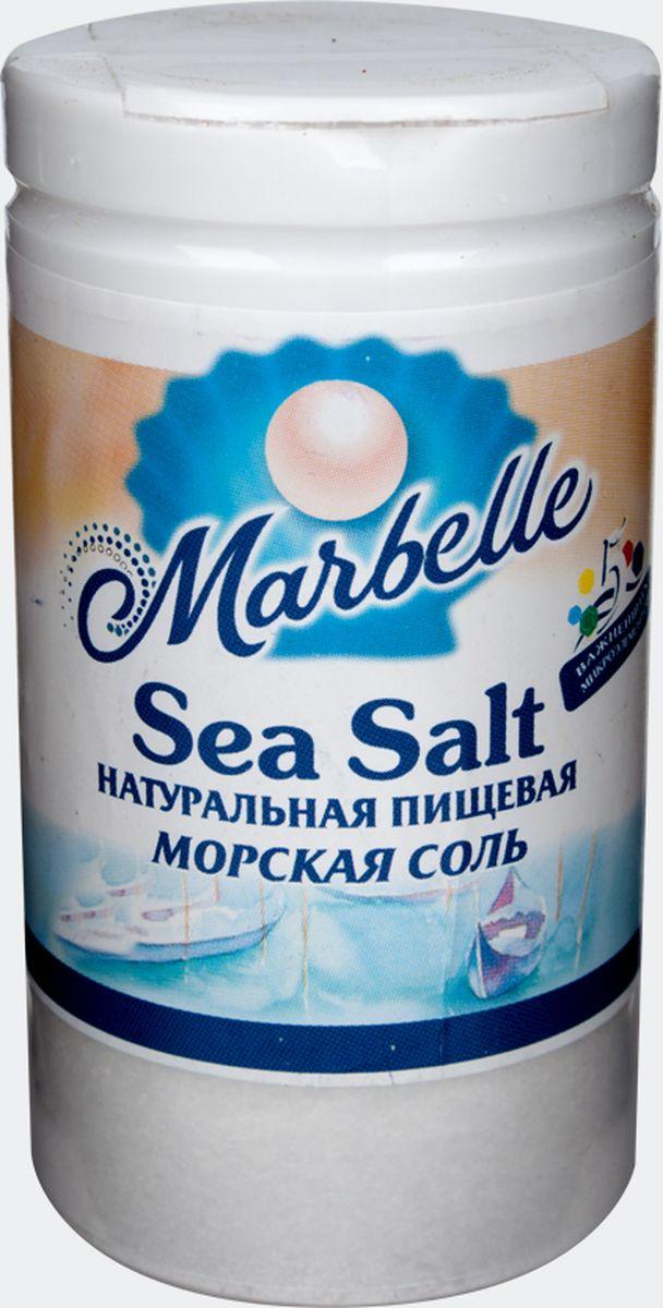 Marbellе морская соль мелкая, 80 г4607012291424Натуральная морская соль мелкого помола – это не только необходимый продукт в процессе приготовления пищи, но и настоящий кладезь полезных веществ и микроэлементов. Удобная упаковка с крышкой и дозатором.