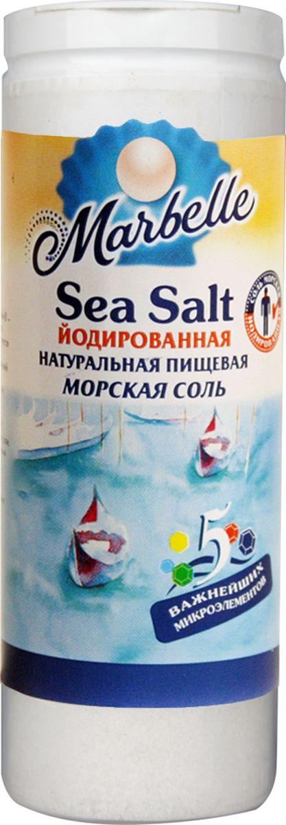 Marbellе морская соль йодированная мелкая, 150 г