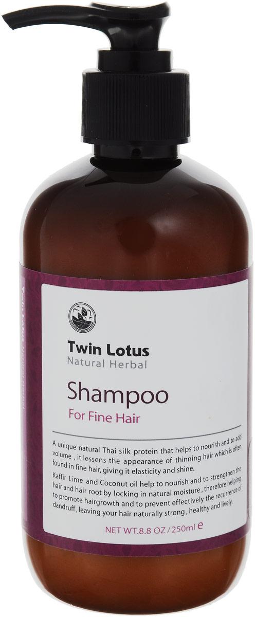 Twin Lotus Шампунь с травами для нормальных и для тонких волос, 250 мл70Twin Lotus Шампунь с травами для нормальных и для тонких волос, 250 мл
