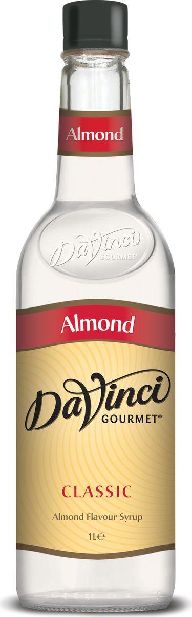 DaVinci Миндаль сироп, 1 л20393696яркий аромат свежего миндаля, во вкусе толченый миндаль.