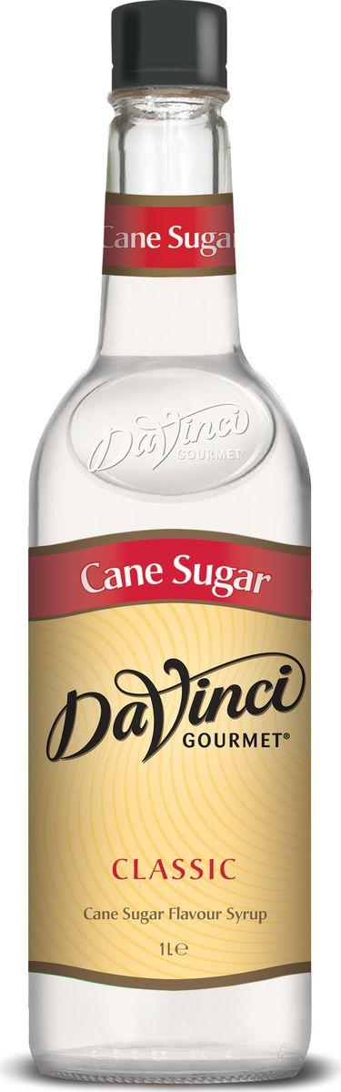 DaVinci Тростниковый сахар сироп, 1 л20393698приятный сладковатый аромат и долгий, продолжительный вкус.