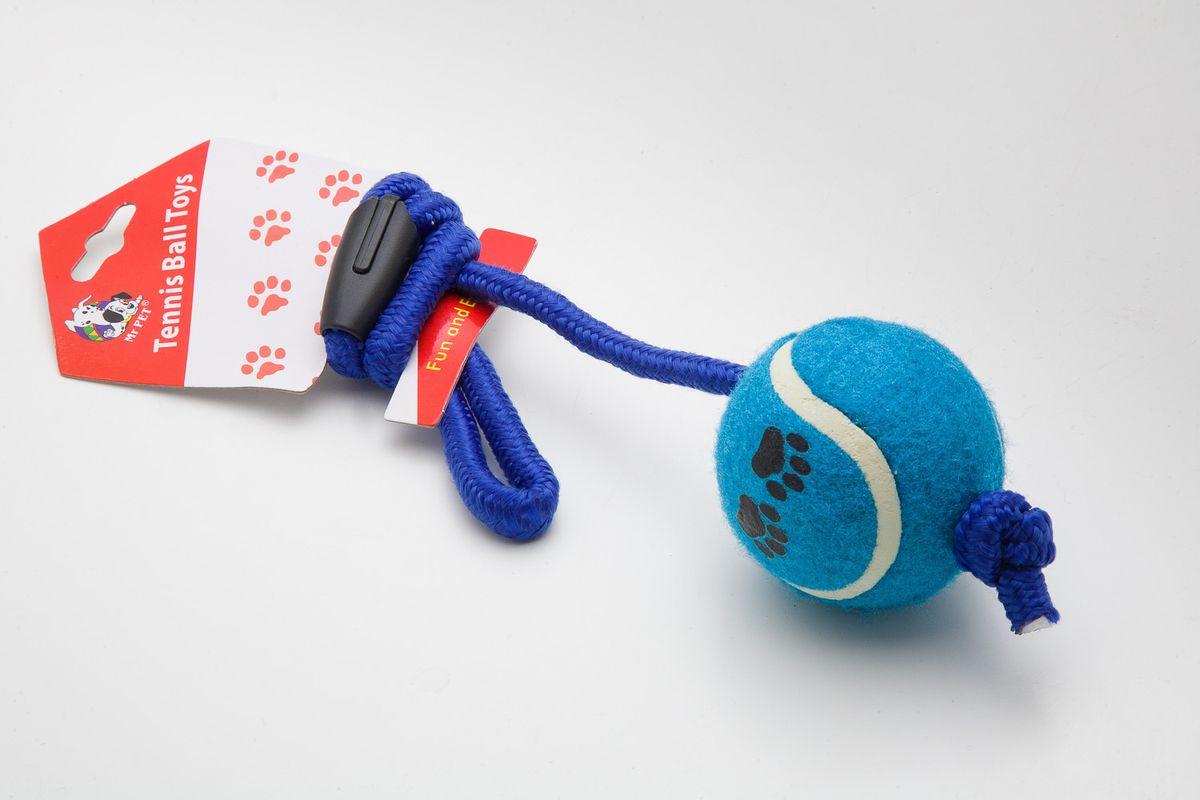 Игрушка MrPet Тянучка с теннисным мячем, 51 см2103