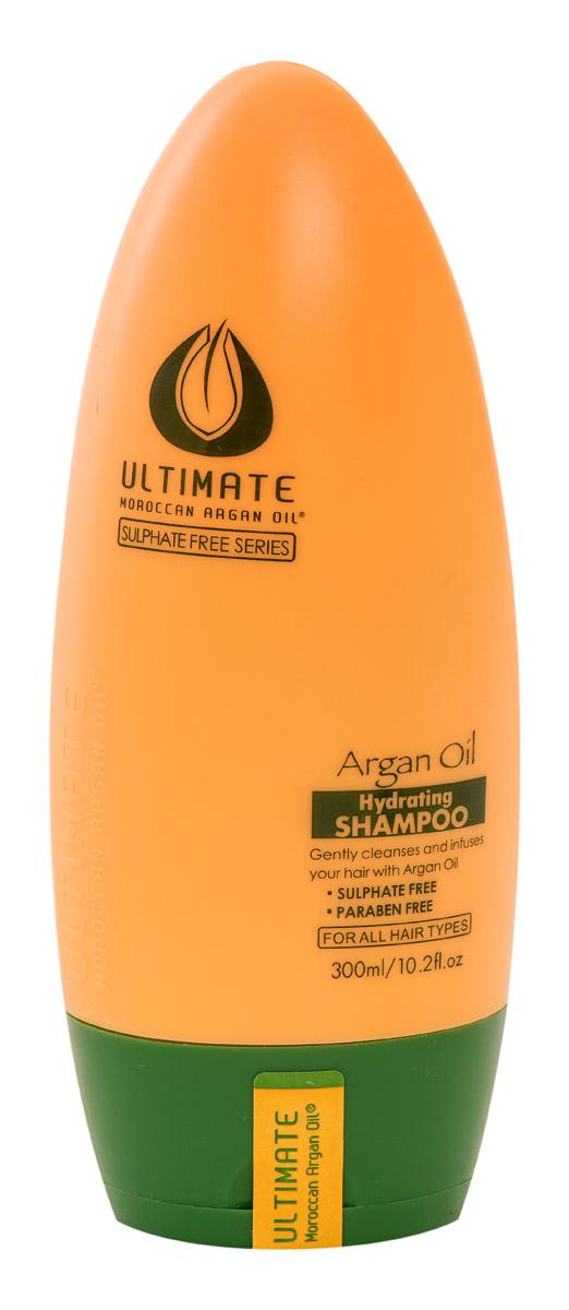 Ultimate Увлажняющий шампунь Глубокое Восстановление Argan Oil Hydrating Shampoo 300 МЛ872004348Продукт для профессионального и персонального применения. Не утяжеляет даже тонкие волосы, обеспечивает видимый эффект сияния за 1 - 2 применения. Для окрашенных волос (кислотный ph), термозащита волос при укладке феном. Для всех типов волос. Особенно эффективен для тонких и окрашенных волос. Результат: тонкие и непослушные волосы обретают силу, здоровый блеск, шелковистость и притягательный видимый объем.