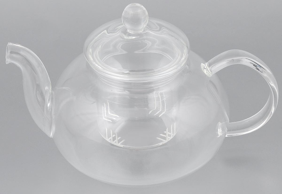 Чайник заварочный Hunan Provincial Смородина, 600 мл15038Заварочный чайник Hunan Provincial Смородина изготовлен из стекла. Пить чай из такого чайника сплошное удовольствие! Полностью прозрачная форма позволяет любоваться цветом своего любимого напитка. Устойчивая основа, широкий носик, удобная ручка - все выполнено идеально для достижения полного комфорта в использовании. Внутреннее сито выполнено на 100% из стекла. После того, как чай заварился, колбу лучше всего достать из чайника, для того чтобы чайный лист не перезаваривался. Диаметр чайника (по верхнему краю): 6,5 см. Высота чайника (без учета крышки): 7,5 см. Высота чайника (с учетом крышки): 12 см. Высота фильтра: 6 см.