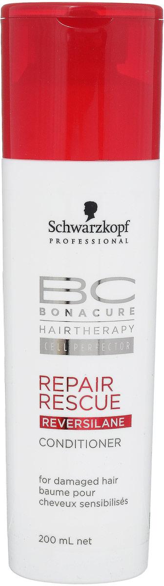 Bonacure BC Кондиционер для волос Repair Rescue, восстанавливающий, 200 мл099-1801297Кондиционер для волос Schwarzkopf & Henkel Repair Rescue - закрывает кутикулярные слои волос. Делает поверхность волос гладкой, запечатывает ее, улучшает расчесывание и смягчает волосы. Сияние и идеальная защита кутикулярного слоя. На 25% усиливает прочность поврежденных и ломких волос. Основные ингредиенты: Протеиновый Комплекс CURA+ активно реструктурирует и укрепляет волосы. Пантенол: обеспечивает базовое увлажнение. Аминная технология клеточного восстановления укрепляет и заново выстраивает структуру волоса на клеточном уровне.