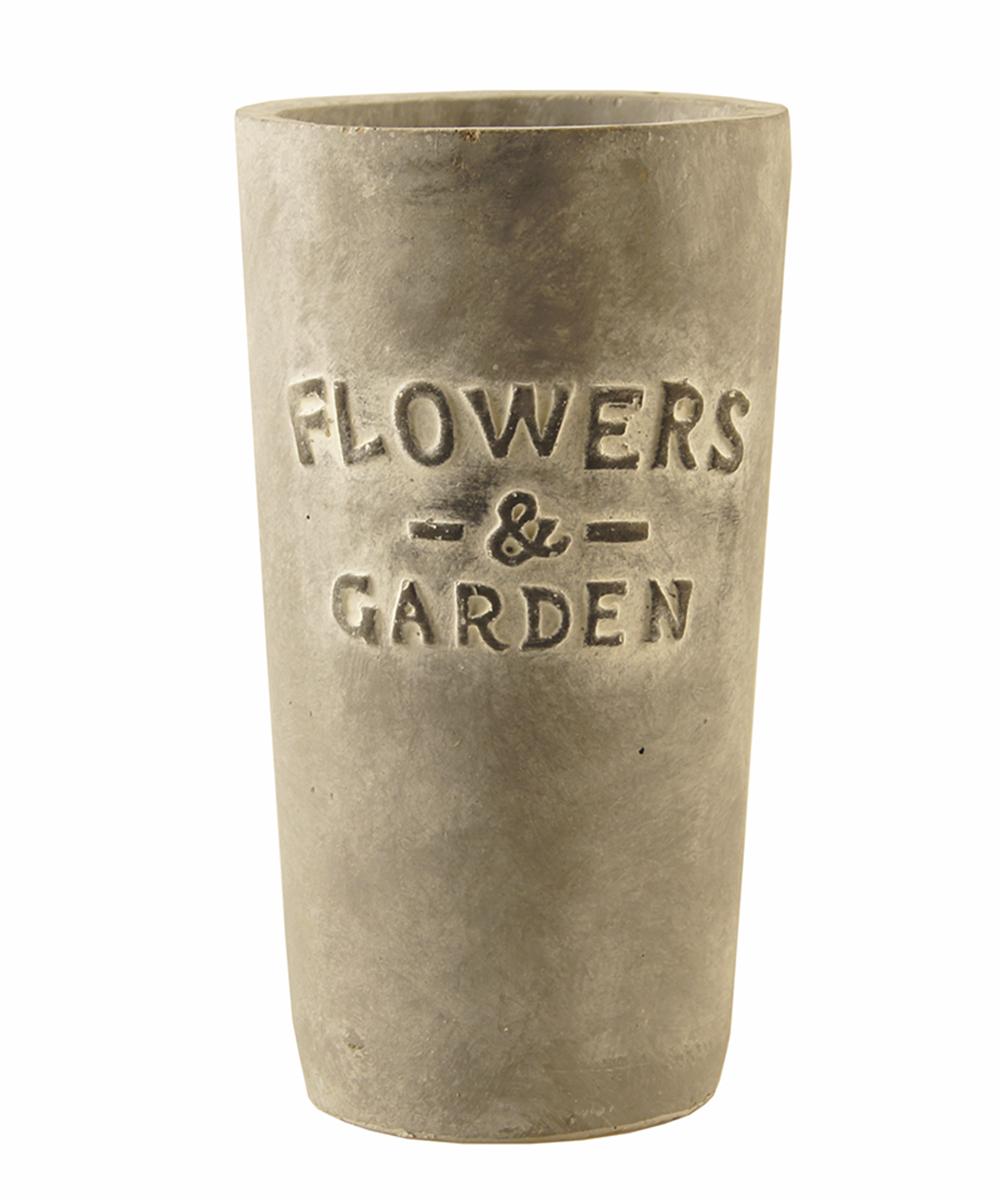 Ваза Этажерка Flowers & Garden, цвет: серый, высота 28 смFF-02583Ваза Этажерка Flowers & Garden выполнена из высококачественной керамики и имеет изысканный внешний вид. Такая ваза станет идеальным украшением интерьера и прекрасным подарком к любому случаю. Высота вазы: 28 см.