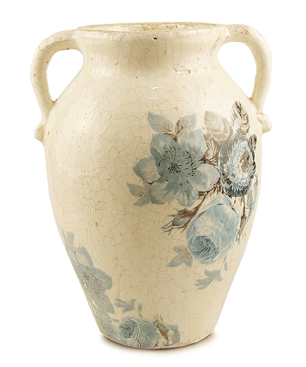 Ваза Этажерка Blue flowers, с ручками, высота 30 смFF-0610Ваза Этажерка Blue flowers выполнена из высококачественной керамики и имеет изысканный внешний вид. Изделие оснащено ручками. Такая ваза станет идеальным украшением интерьера и прекрасным подарком к любому случаю. Высота вазы: 30 см.