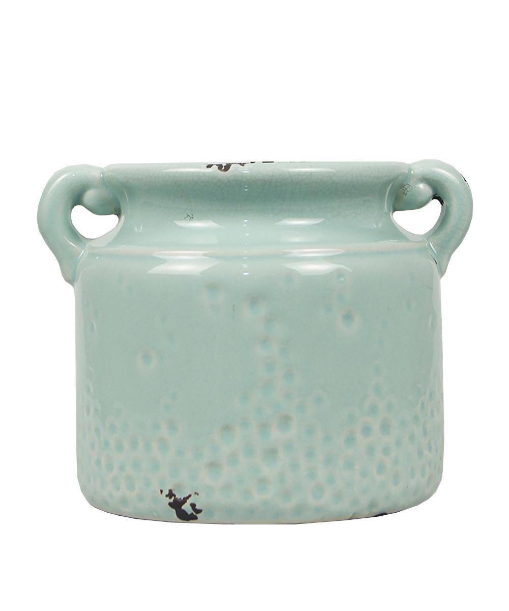 Ваза Этажерка Athens, цвет: голубой, высота 15 смGY0825Ваза Этажерка Athens выполнена из высококачественной керамики и имеет изысканный внешний вид. Такая ваза станет идеальным украшением интерьера и прекрасным подарком к любому случаю. Высота вазы: 15 см.