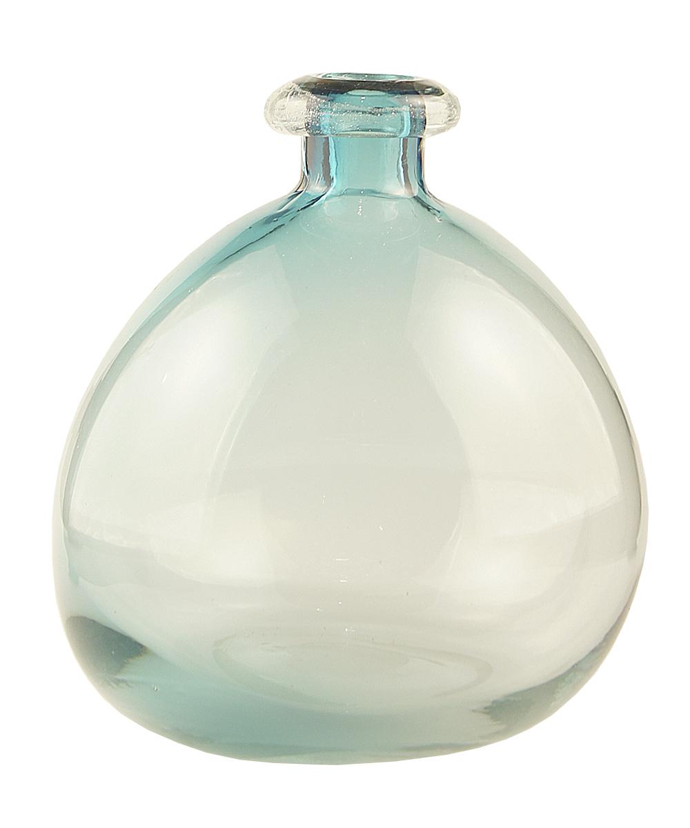 Ваза Этажерка Bottle, цвет: голубой, высота 25 смXDG2622-26Ваза Этажерка Bottle выполнена из высококачественного стекла и имеет изысканный внешний вид. Такая ваза станет идеальным украшением интерьера и прекрасным подарком к любому случаю. Высота вазы: 25 см.