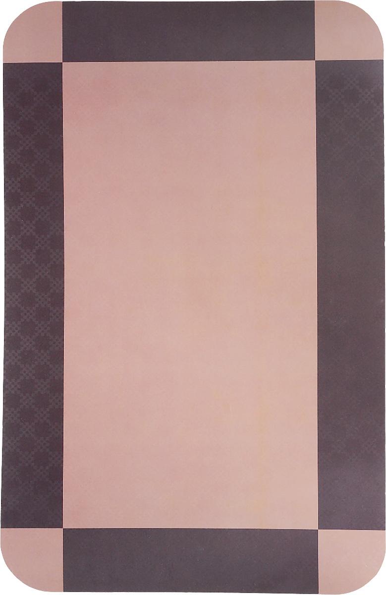Салфетка сервировочная Пластмаркет Коричневая, 41 х 26 см506Салфетка Пластмаркет Коричневая, выполненная из ПВХ, предназначена для сервировки стола. Она служит защитой от царапин и различных следов, а также используется в качестве подставки под горячее. Оригинальный рисунок дополнит стильную сервировку стола. Размер салфетки: 41 х 26 см.