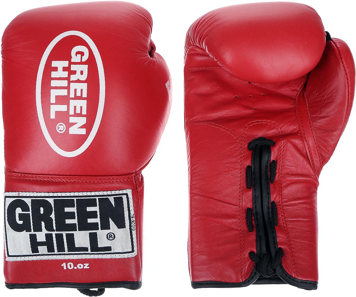 Перчатки боксерские Green Hill Supreme, цвет: красный, белый. Вес 10 унций. BGS-2111BGS-2111Перчатки Green Hill Supreme изготовлены из натуральной кожи и разработаны специально для кикбоксинга. Высокотехнологичная вставка, изготовленная из вспененного полимера, сделана таким образом, что принимает форму руки спортсмена, обеспечивая максимальный комфорт и позволяет чувствовать удар. Идеально подходят для тренировок и спаррингов.