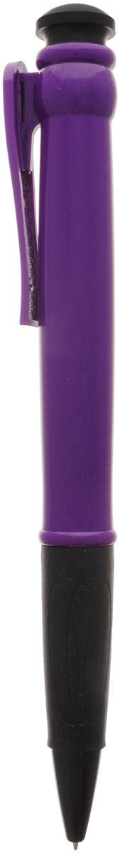 Эврика Ручка шариковая цвет корпуса фиолетовый 28,5 см96077Огромная шариковая ручка Эврика поразит воображение любого, кто увидит ее впервые. Ручка автоматическая, имеет сменный стержень с синими чернилами и удобный клип, все как у ее настоящих младших собратьев. Оригинальную ручку можно использовать для подписания шуточных документов, участия в конкурсах и просто в качестве удивительного сувенира. Несмотря на ее большие размеры, писать такой ручкой довольно удобно.