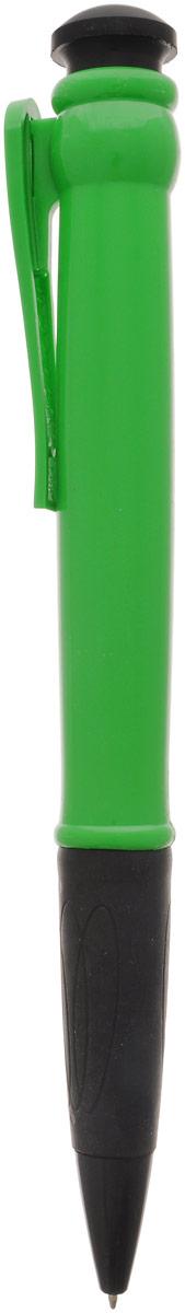 Эврика Ручка шариковая цвет корпуса зеленый 28,5 см96080Огромная шариковая ручка Эврика поразит воображение любого, кто увидит ее впервые. Ручка автоматическая, имеет сменный стержень с чернилами и клип, все как у ее настоящих младших собратьев. Оригинальную ручку можно использовать для подписания шуточных документов, участия в конкурсах и просто в качестве удивительного сувенира. Несмотря на ее большие размеры, писать такой ручкой довольно удобно.