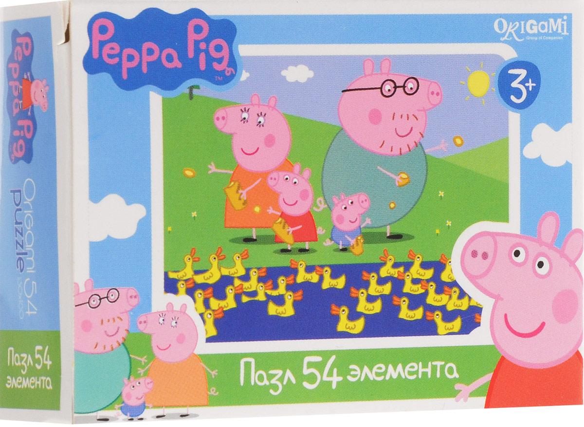 Оригами Пазл для малышей Peppa Pig Уточки1595_уткиПазл для малышей Оригами Peppa Pig. Уточки придется по душе всем юным поклонникам свинки Пеппы. Собрав этот пазл, включающий в себя 54 элемента, вы получите картинку с изображением сюжета из популярного мультфильма. Пазл - великолепная игра для семейного досуга. Сегодня собирание пазлов стало особенно популярным, главным образом, благодаря своей многообразной тематике, способной удовлетворить самый взыскательный вкус. А для детей это не только интересно, но и полезно. Собирание пазла развивает мелкую моторику у ребенка, тренирует наблюдательность, логическое мышление, знакомит с окружающим миром, с цветом и разнообразными формами.